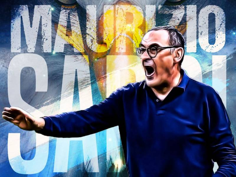 Maurizio Sarri fue oficializado por como nuevo entrenador de Lazio