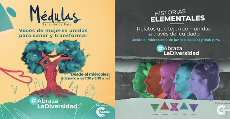 'Historias elementales' y 'Médulas'