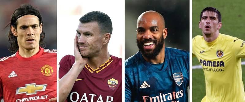 Manchester United-Roma y Arsenal-Villarreal, semifinales con historia