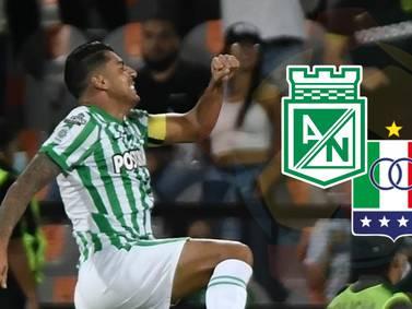 ¡Nacional le ganó a Once Caldas y quedó líder de Liga y de reclasificación!