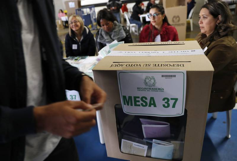 Votaciones en Colombia