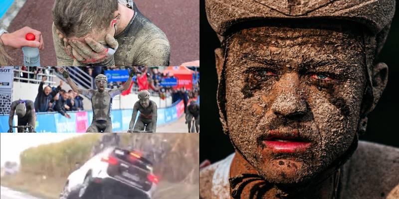 Lágrimas negras: las postales más impactantes que dejó Paris Roubaix