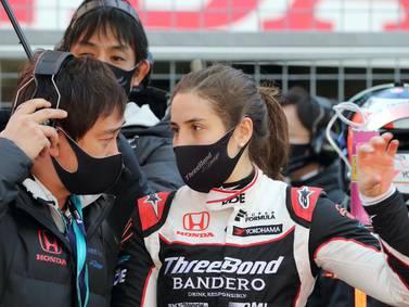 Tatiana Calderón, la dama del automovilismo que siempre quiere más velocidad