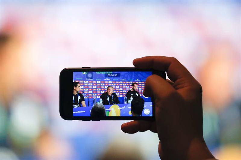 Este año los hinchas podrán ver contenido exclusivo de la Copa América desde una aplicación