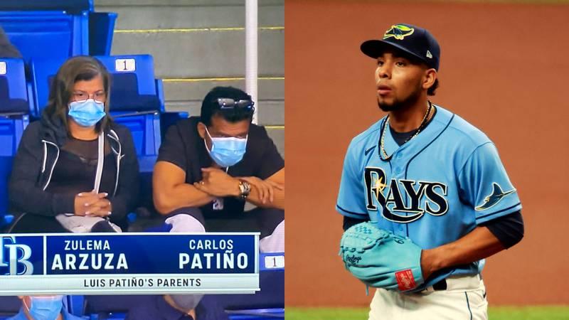Luis Patiño con Tampa Bay Rays