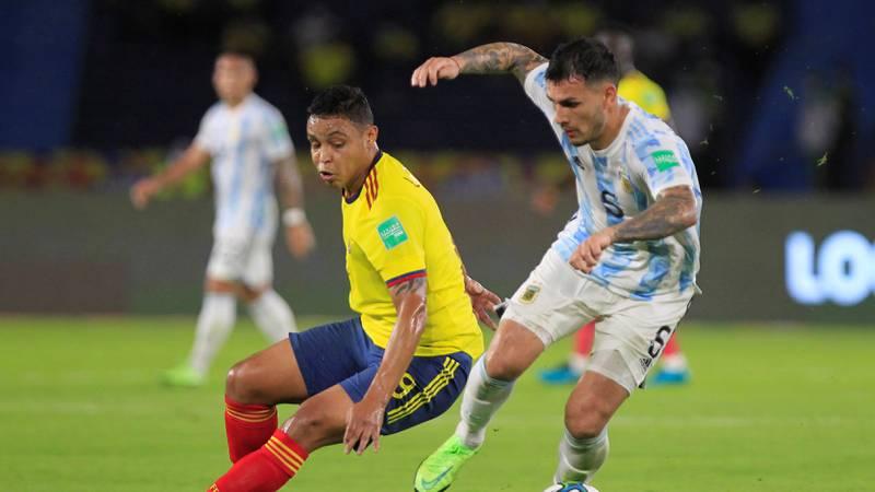Video del gol de Luis Fernando Muriel a Argentina en Eliminatorias a Catar
