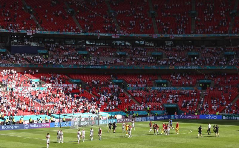 Accidente en Wembley: un aficionado en estado grave