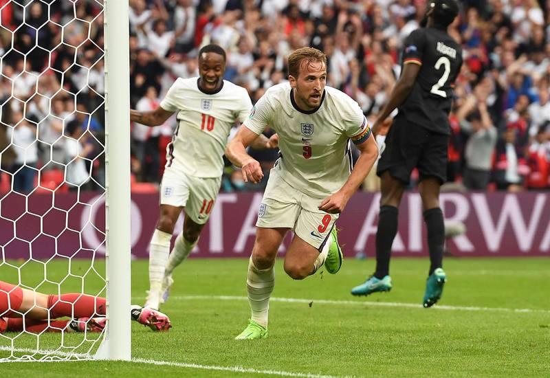 Inglaterra eliminó a Alemania en la Eurocopa.