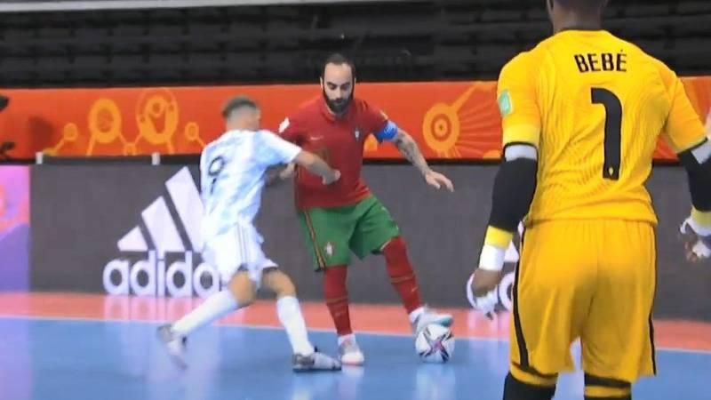 Argentina perdió el Mundial de Futsal por un desleal golpe de un futbolista