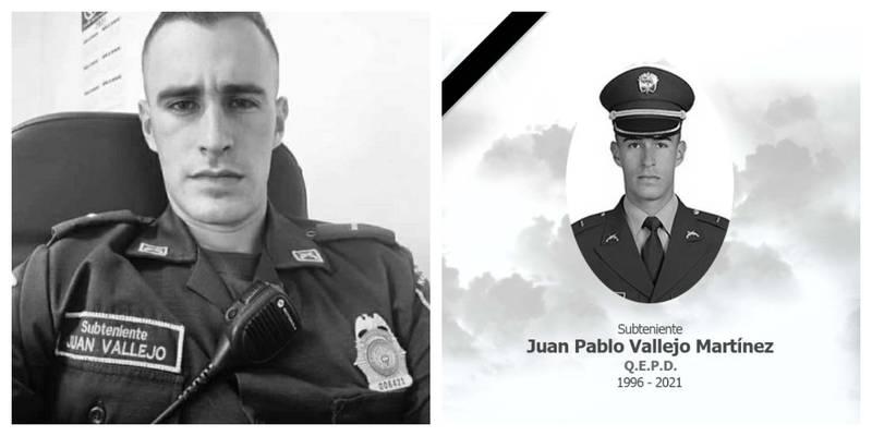 subteniente asesinado en Bogotá