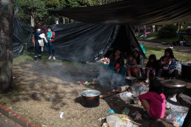 ¿Por qué las comunidades indígenas se asentaron en el Parque Nacional?