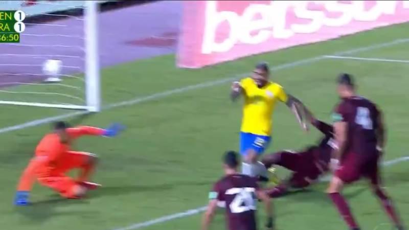 VIDEO | Goles de Venezuela 1-2 Brasil en Eliminatorias Qatar 2022