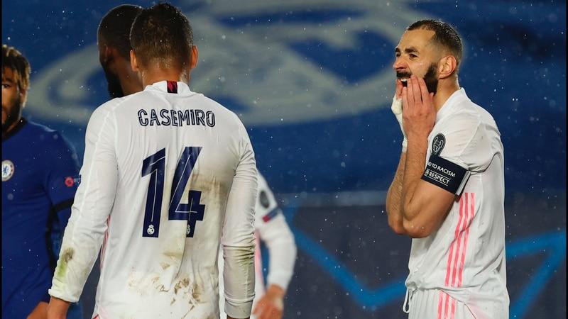 Falta de Casemiro en gol del Real Madrid vs Chelsea