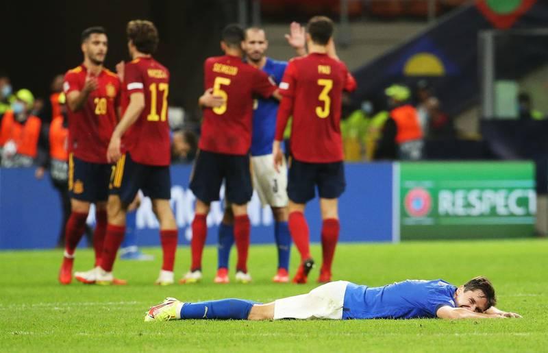La remendada España le dio una puntada letal a Italia y es finalista