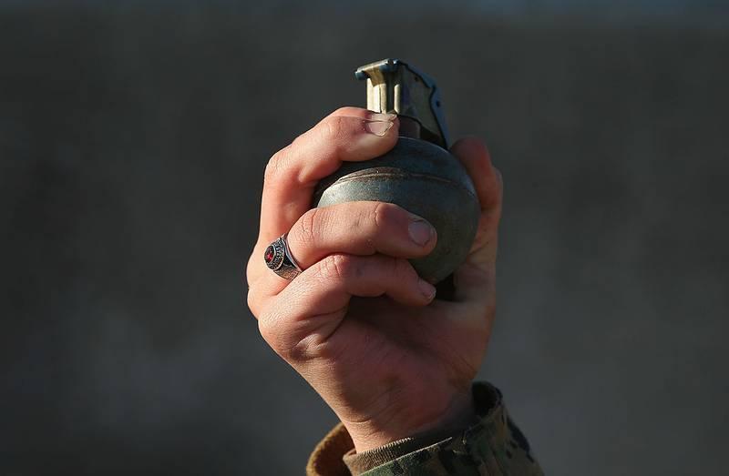 explosión de una granada