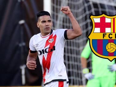 La marca que alcanzará Falcao, si le marca hoy dos goles al Barça
