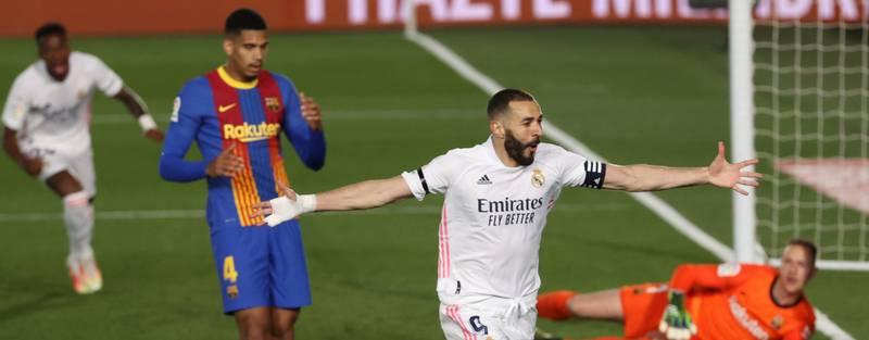 VIDEO Goles del Real Madrid 2-1 Barcelona en La Liga Santander