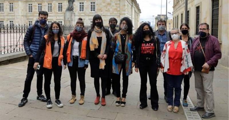 Misión europea visita Colombia para verificar situación tras las protestas