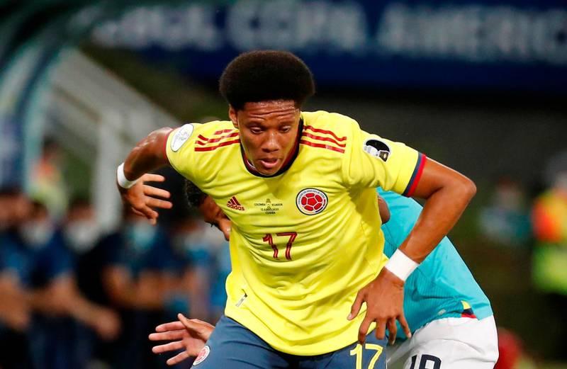 Yairo Moreno fue desconvocado de la Selección Colombia