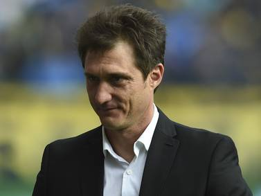 ¡Atento, Rueda! Guillermo Barros Schelotto, nuevo seleccionador de Paraguay