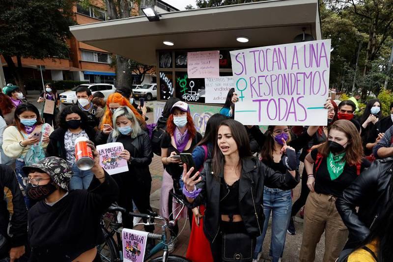 mujeres protestas- EFE