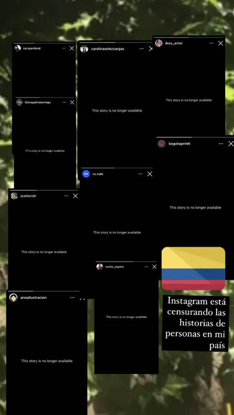 Usuarios de Instagram denuncian censura sobre contenido del Paro