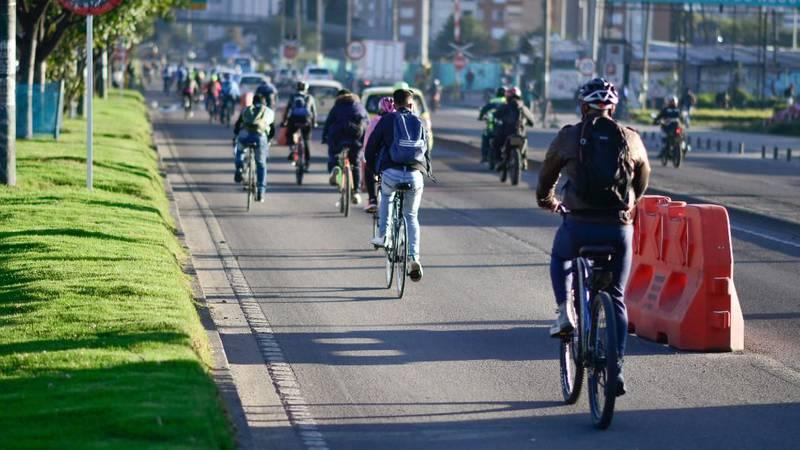 ciclovías temporales Bogotá- SECRETARÍA MOVILIDAD
