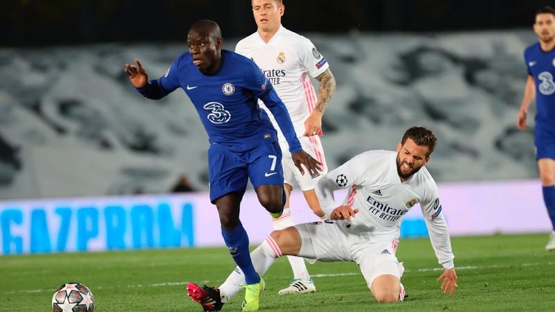 Estadísticas de N'Golo Kanté en Real Madrid vs Chelsea
