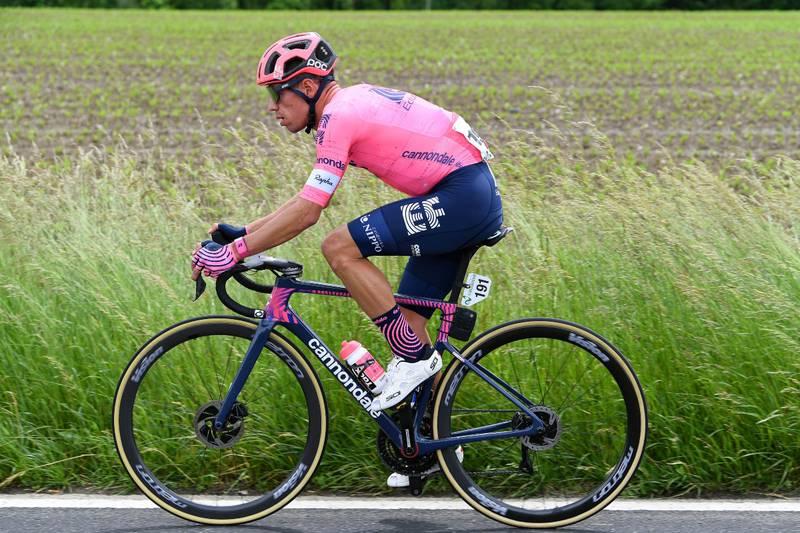Rigoberto Urán entró al top 10 del Tour de Suiza